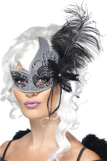 loup ange noir d guis masque halloween femme le. Black Bedroom Furniture Sets. Home Design Ideas
