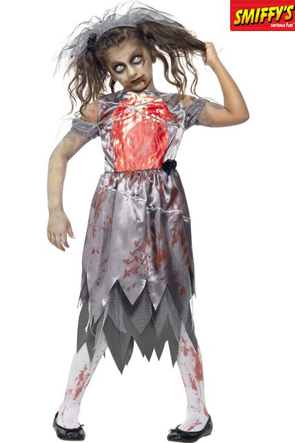 D guisement zombie mari e d guisement halloween enfant fille le - Deguisement halloween enfant fille ...