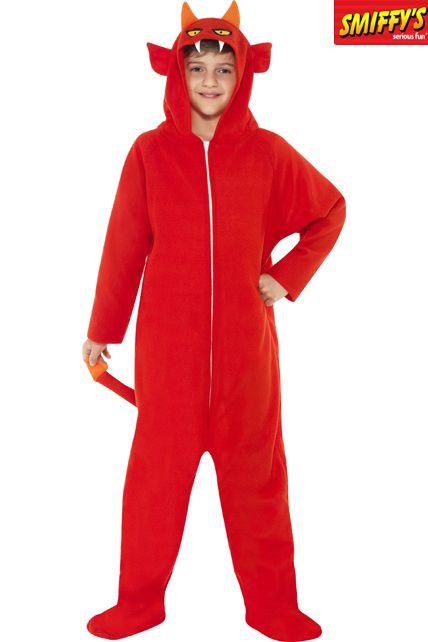 D guisement d mon rouge d guisement halloween enfant le for Comfabriquer deguisement halloween enfant
