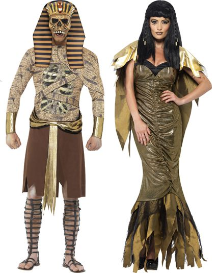 Deguisement tombeau d 39 egype d guisement couple adulte le - Deguisement halloween couple ...