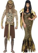 Deguisement Couple Tombeau d'Egypte En Couple