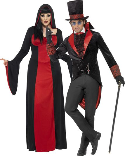 Deguisement couple vampire new look d guisement couple halloween le - Deguisement couple halloween ...