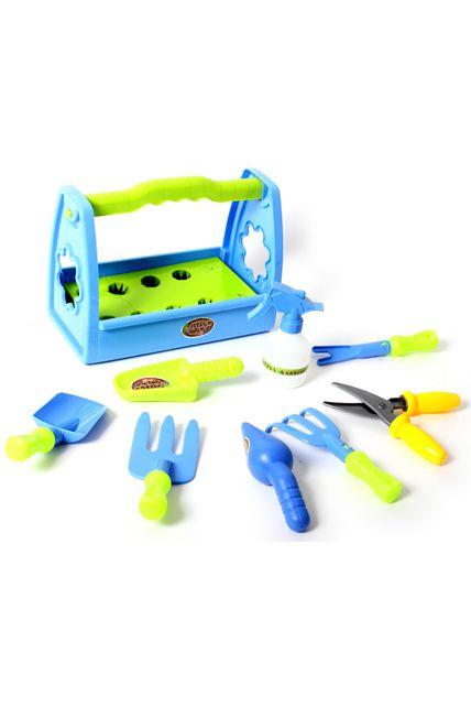 Caisse outils de jardin kermesse jeux plein air le - Caisse a outils enfant ...