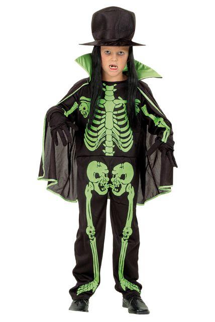 D guisement enfant squelette d guisement enfant halloween enfants le for Comfabriquer deguisement halloween enfant