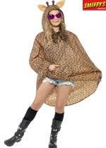 Deguisement Poncho Party Girafe