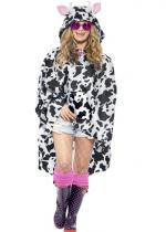 Deguisement Poncho Party Vache Imperméable