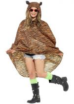 Deguisement Poncho Party Tigre Imperméable
