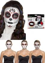 Deguisement Kit De Maquillage Day Of The Dead
