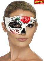Deguisement Demi Masque Day Of The Dead