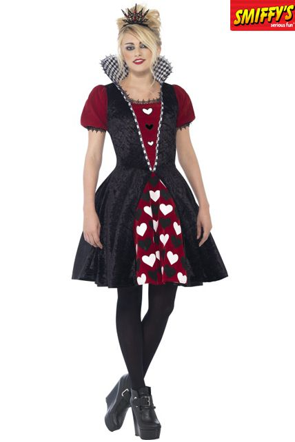 D guisement enfant reine rouge sombre d guisement halloween enfants le for Comfabriquer deguisement halloween enfant