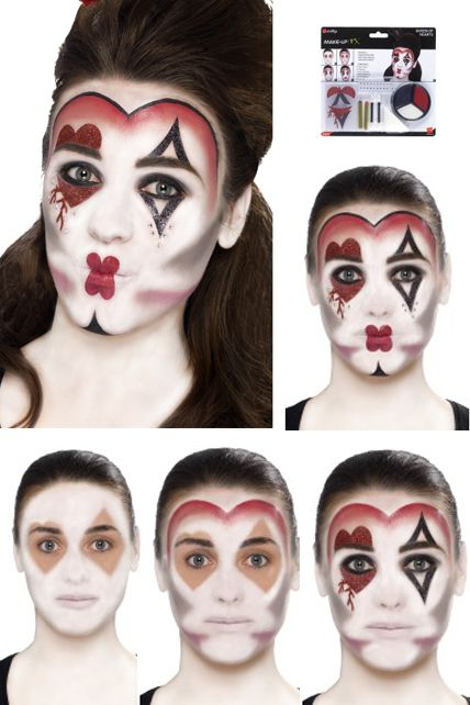 Maquillage; Costume Halloween; Déguisement Mardi Gras