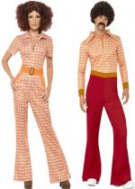 Deguisement D�guisement Couple Seventies En Couple