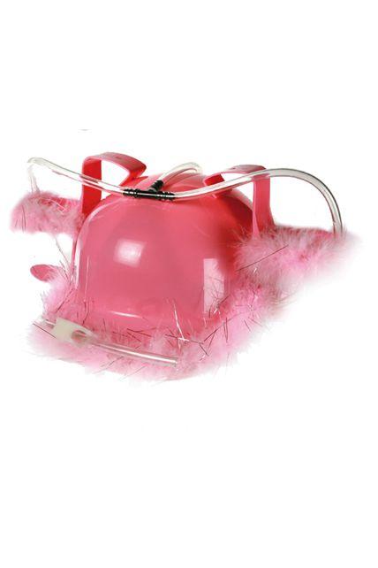 casque anti soif marabout rose enterrement vie de jeune fille le. Black Bedroom Furniture Sets. Home Design Ideas