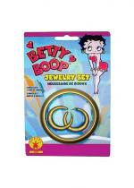 Deguisement Set Bijou Licence Betty Boop Bracelets et Colliers