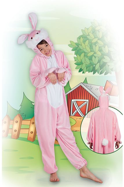 costume lapin rose peluche d guisement enfant animaux le. Black Bedroom Furniture Sets. Home Design Ideas