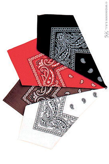 bandana western accessoires foulard bandana bandeau le. Black Bedroom Furniture Sets. Home Design Ideas