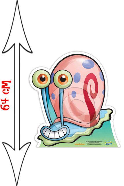 Figurine g ante gary l 39 escargot bob l 39 ponge d corations - Bobe l escargot ...