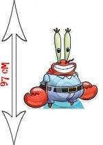 Deguisement Figurine Géante Capitaine Mr Krabs Bob L'Éponge
