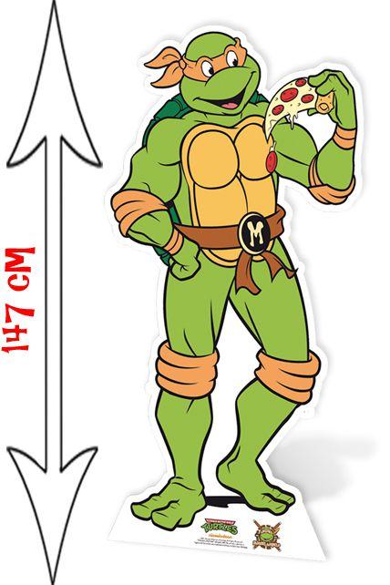Figurine g ante de michelangelo tortue ninja d corations les figurines g antes le - Dessiner un ninja ...