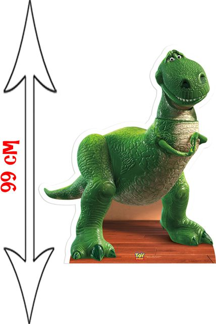 Figurine g ante rex le dinosaure toy story d corations les figurines g antes le - Dinosaure toy story ...