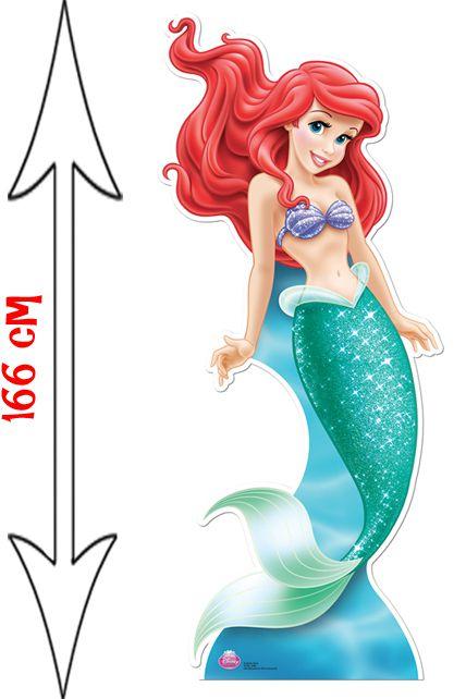 Figurine g ante ariel la petite sir ne d corations les figurines g antes le - Ariel petite sirene ...