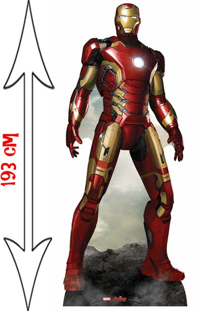 figurine g ante ironman avengers d corations les figurines g antes le. Black Bedroom Furniture Sets. Home Design Ideas