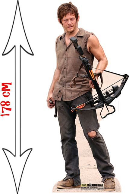 figurine g ante daryl dixon the walking dead d corations les figurines g antes le. Black Bedroom Furniture Sets. Home Design Ideas
