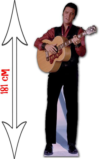 figurine g ante elvis presley guitare 3 d corations les. Black Bedroom Furniture Sets. Home Design Ideas