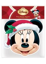 Deguisement Masque Adulte En Carton Disney Christmas Minnie