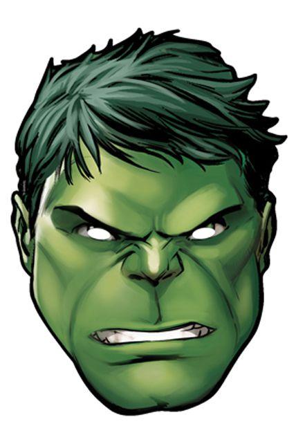 Masque carton adulte hulk avengers masques adultes le - Hulk a imprimer ...