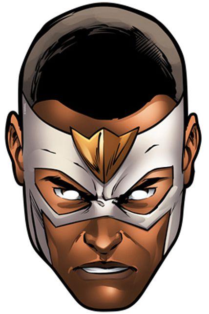 Masque carton adulte faucon avengers masques adultes le - Masque super heros imprimer ...