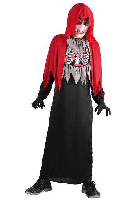 D guisement faucheur squelette d guisement enfant halloween enfants le for Comfabriquer deguisement halloween enfant