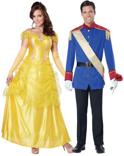 couple prince et princesse d guisement en couple le. Black Bedroom Furniture Sets. Home Design Ideas