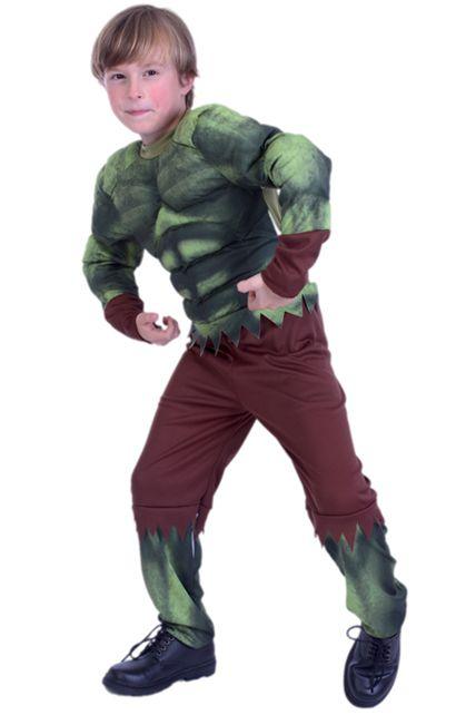 D guisement monstre vert gar on d guisement enfant halloween enfants le for Comfabriquer deguisement halloween enfant