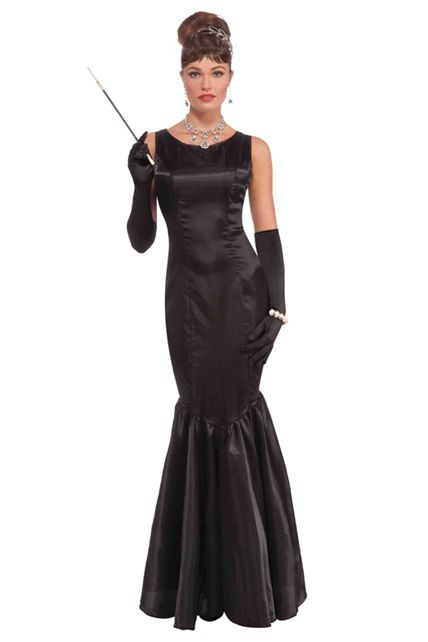 6bf28d8e6a4 Robe Noire Elégante - Déguisement adulte Femme Le Deguisement.com