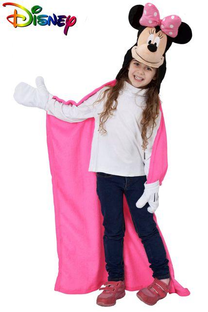 Plaid capuche disney minnie d guisement enfant v tements divers enfant le - Deguisement disney enfant ...