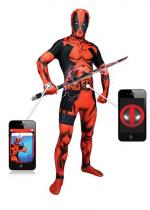 Deguisement Seconde Peau Morphsuit™ Deadpool Digital