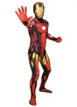 Deguisement Seconde Peau Morphsuit™ Luxe Iron Man