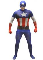 Deguisement Seconde Peau Morphsuit™ Captain America
