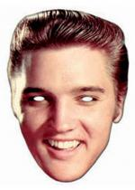 Deguisement Masque Carton Adulte Elvis Presley Rock And Roll Personnalit�s