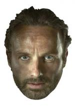 Deguisement Masque Adulte Rick Grimes The Walking Dead