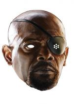 Deguisement Masque Carton Adulte Nick Fury Avengers 2