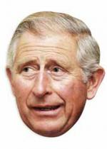 Deguisement Masque Carton Adulte Prince Charles Personnalit�s