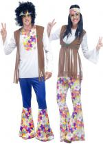 Deguisement Couple de Hippy Moderne En Couple