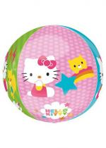 Deguisement Ballon Hello Kitty Orbz 38 X 40 Cm