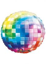 Deguisement Ballon Multicolore 70'S Disco Fever Jumbo XL
