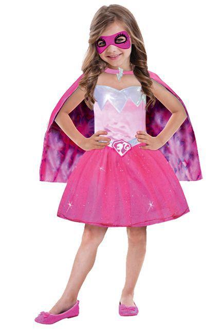 D guisement super barbie d guisement enfant filles le - Robe barbie adulte ...
