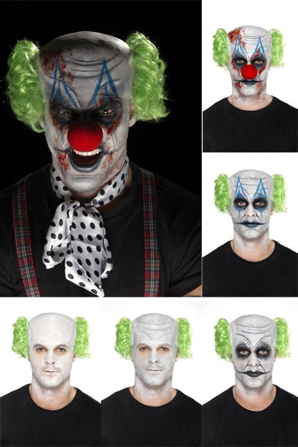 Maquillage clown mechant facile - Maquillage de clown facile ...