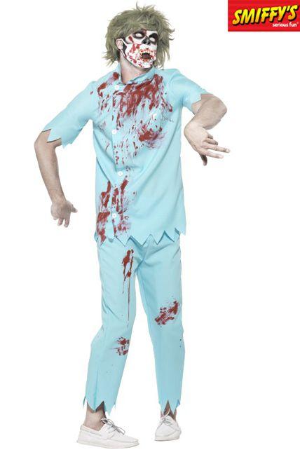 Déguisement Zombie Dentiste