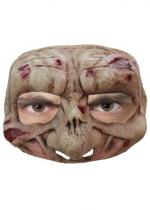 Deguisement Demi Masque Latex Adulte Zombie